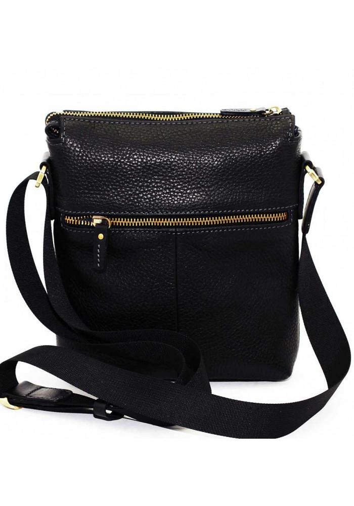 67b29934bb36 ... Маленькая сумка на плечо мужская кожаная Vatto черная, фото №2 -  интернет магазин stunner ...