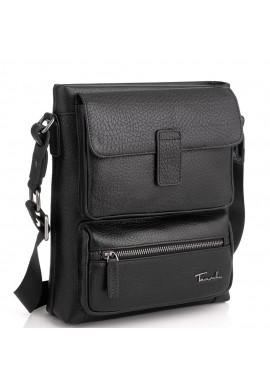 Фото Кожаная сумка через плечо на одно отделение Tavinchi TV-S009A