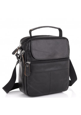 Фото Черная мужская сумка-мессенджер Tiding Bag NM20-6021A