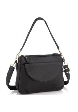Фото Женская кожаная сумка черная Riche NM20-W1195A