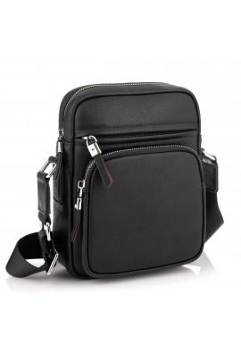 Фото Кожаная стильная сумка-мессенджер через плечо Tiding Bag SM8-1022A