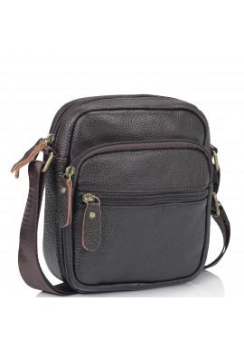 Фото Мужская кожаная сумка-мессенджер через плечо Tiding Bag N2-1009DB