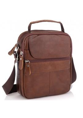 Фото Коричневая мужская сумка-мессенджер Tiding Bag NM20-6021C