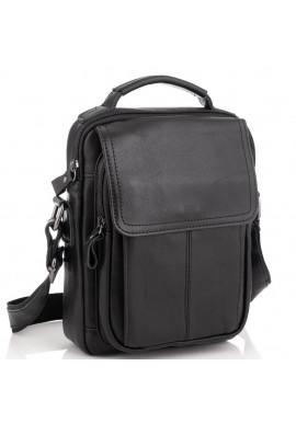 Фото Мужская сумка через плечо черная Tiding Bag N2-8017A