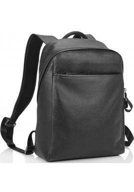 Фото Рюкзак кожаный черный Tiding Bag B3-1663A-11NM
