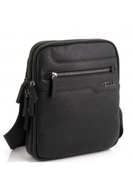 Фото Мужская кожаная сумка на три отделения Tavinchi TV-S004A