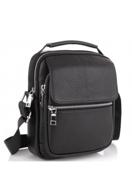 Фото Мужская сумка через плечо кожаная Tiding Bag NM23-2302A