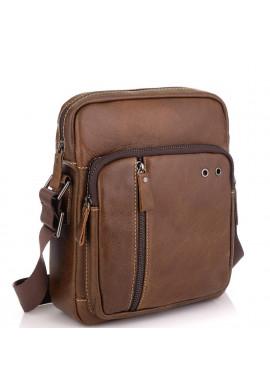 Фото Коричневая мужская сумка через плечо Tiding Bag N2-0013B