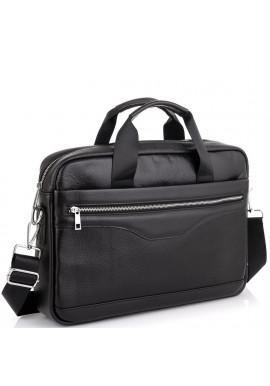 Фото Мужская кожаная деловая сумка для ноутбука Tiding Bag A25-1128-1A