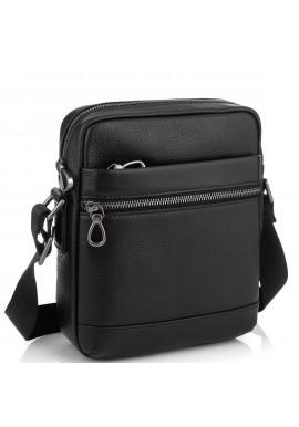 Фото Мужская сумка через плечо в зернистой коже Tiding Bag NM29-88078A