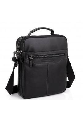 Фото Мужская черная сумка через плечо Allan Marco RR-4083A