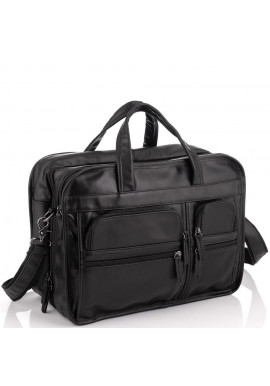 Фото Большая деловая мужская кожаная сумка Jasper&Maine 7093A