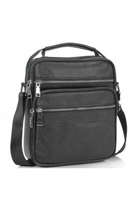 Фото Мужская кожаная сумка через плечо мессенджер Tiding Bag NM23-2306A