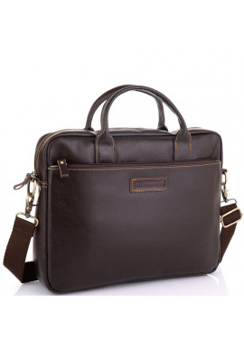 Фото Мужская коричневая сумка для ноутбука Allan Marco RR-4024B
