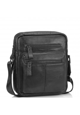 Фото Черная мужская сумка-мессенджер Tiding Bag N2-0015A