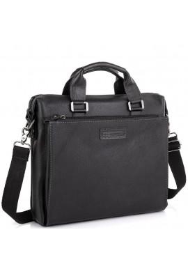 Фото Кожаная черная сумка для ноутбука Allan Marco RR-4102A