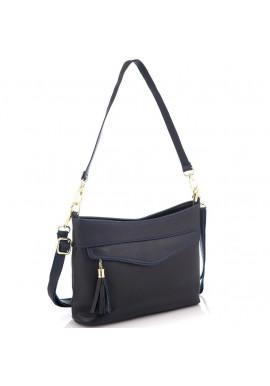 Фото Кожаная женская сумка синяя Riche NM20-W832BL