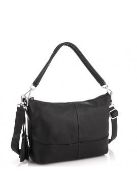 Фото Кожаная женская сумка черная Riche NM20-W891A