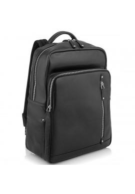 Фото Стильный кожаный мужской рюкзак черного цвета Tiding Bag NM29-5073BA