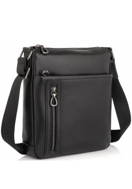 Фото Кожаная сумка-мессенджер через плечо Tiding Bag SM8-17629A