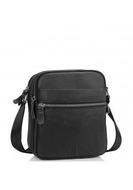 Фото Мужская кожаная сумка через плечо маленькая Tiding Bag A25F-6625A