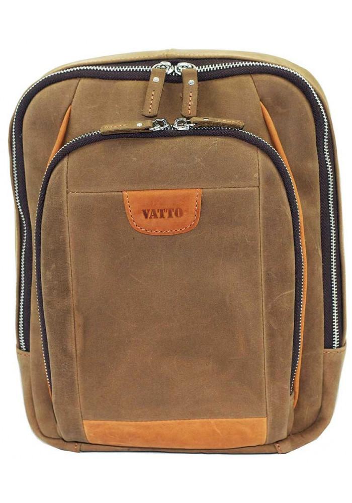 Модный рюкзак мужской Vatto песочный