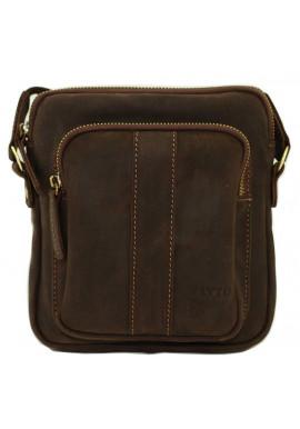 Фото Брендовая сумка для мужчины кожаная Vatto коричневая