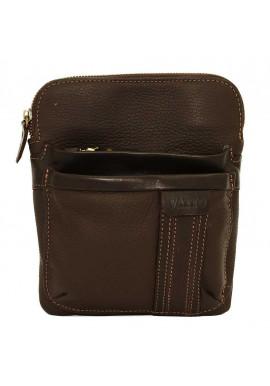 Фото Брендовая сумка-планшет для мужчины Vatto коричневая