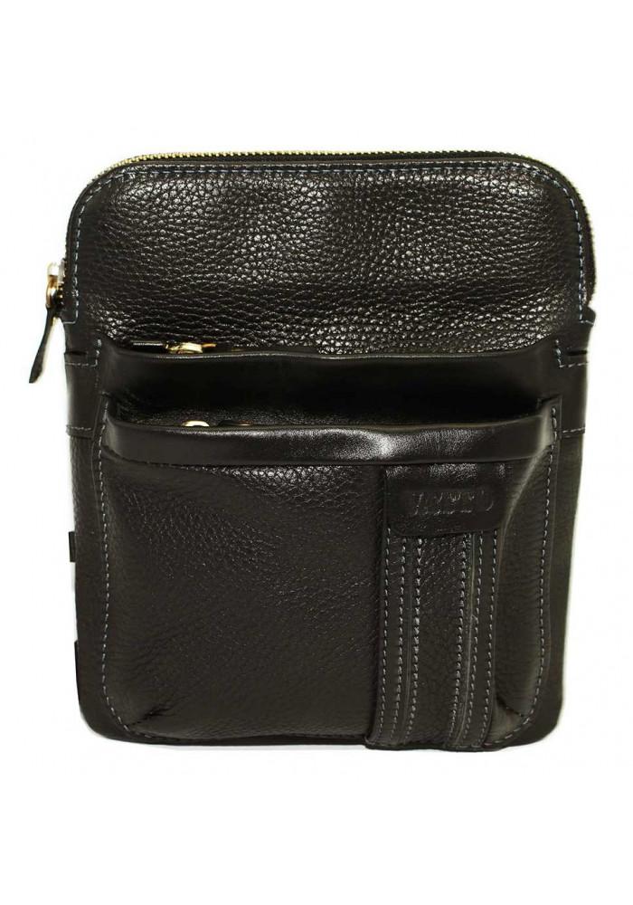 Брендовая сумка-планшет для мужчины Vatto черная