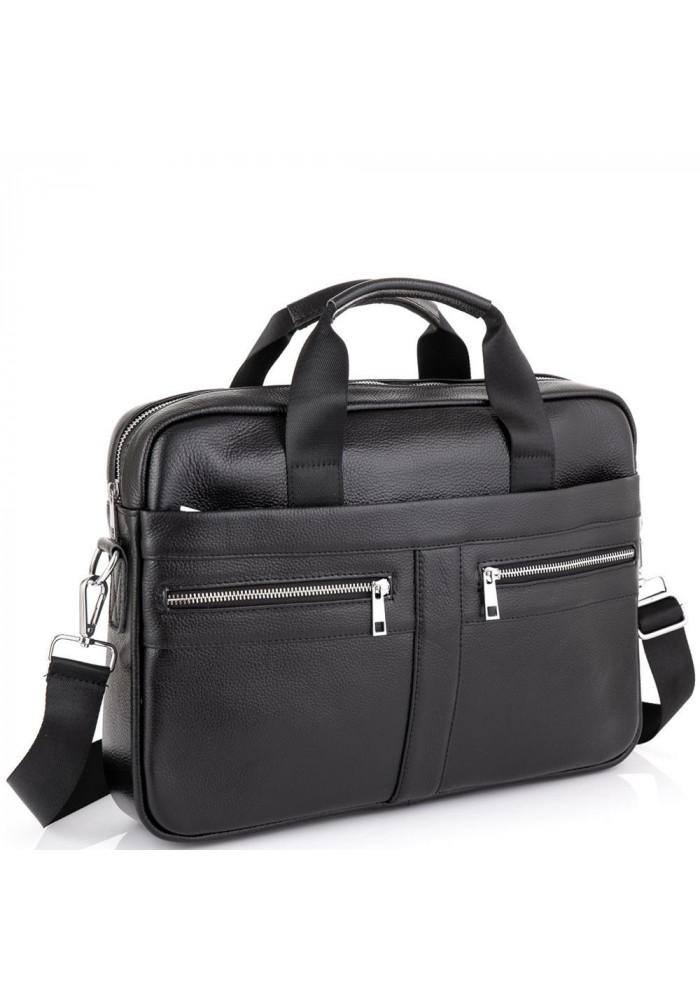 Фото Кожаная сумка для ноутбука мужская Tiding Bag A25-1120A