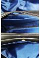 Фирменная мужская сумка с удлиненными ручками Vatto черная, фото №6 - интернет магазин stunner.com.ua