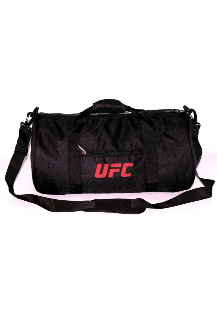Спортивная мужская сумка черная Reebok UFC TM MAD