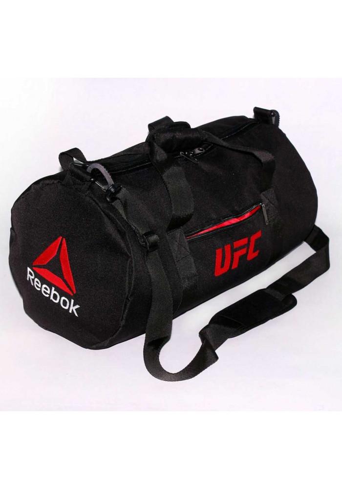 47e3dbdecdc8 ... Спортивная мужская сумка черная Reebok UFC TM MAD, фото №2 - интернет  магазин stunner ...