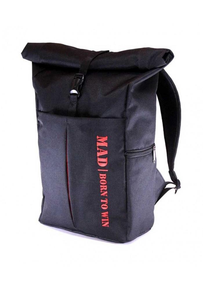 Городской коф-рюкзак TM MAD черный
