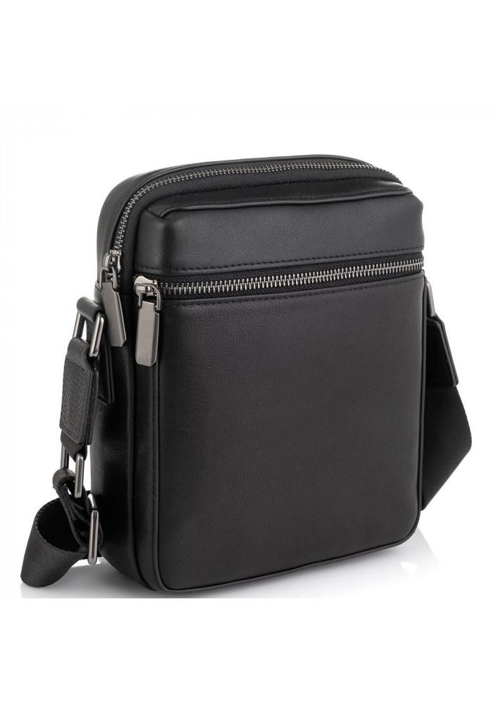 Фото Мужская сумка через плечо черная Tiding Bag SM8-2156A