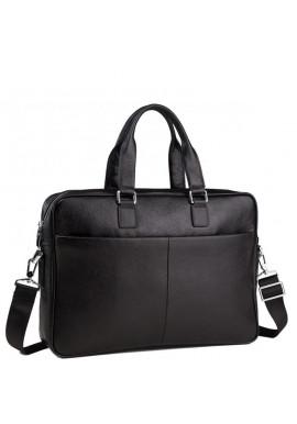 Фото Сумка-портфель мужская кожаная для ноутбука и документов Tiding Bag M8018A