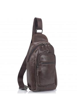 Фото Мужская сумка-слинг коричневого цвета Tiding Bag M35-1008C
