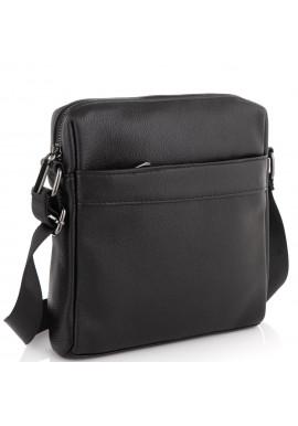 Фото Мужская сумка через плечо черная Tiding Bag NM23-8017A