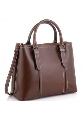 Фото Женская коричневая сумка Grays GR3-8501B