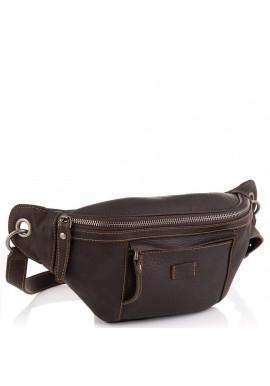 Фото Мужская кожаная сумка на пояс Tiding Bag t2103DB