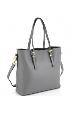 Фото Женская серая сумка Grays GR3-173LBL
