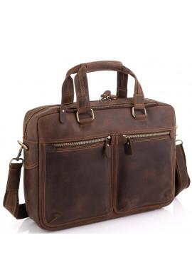 Фото Сумка для ноутбука в винтажном стиле мужская Tiding Bag D4-001R