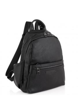 Фото Женский кожаный рюкзак черный Olivia Leather NWBP27-009A
