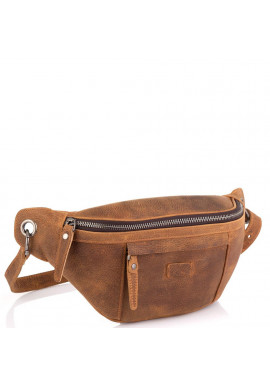 Фото Мужская сумка на пояс коричневая Tiding Bag t2103C