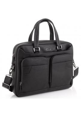 Фото Деловая мужская кожаная сумка для ноутбука Tavinchi TV-1001A