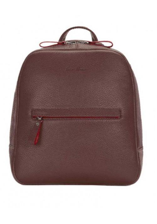 Женский кожаный рюкзак Issa Hara коричневый