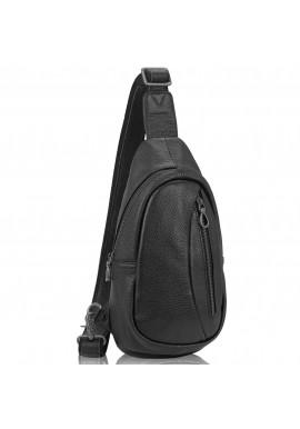 Фото Сумка-слинг черная мужская Tiding Bag 10030A