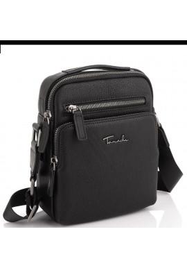 Фото Мужская кожаная сумка через плечо с ручкой Tavinchi TV2605-2A