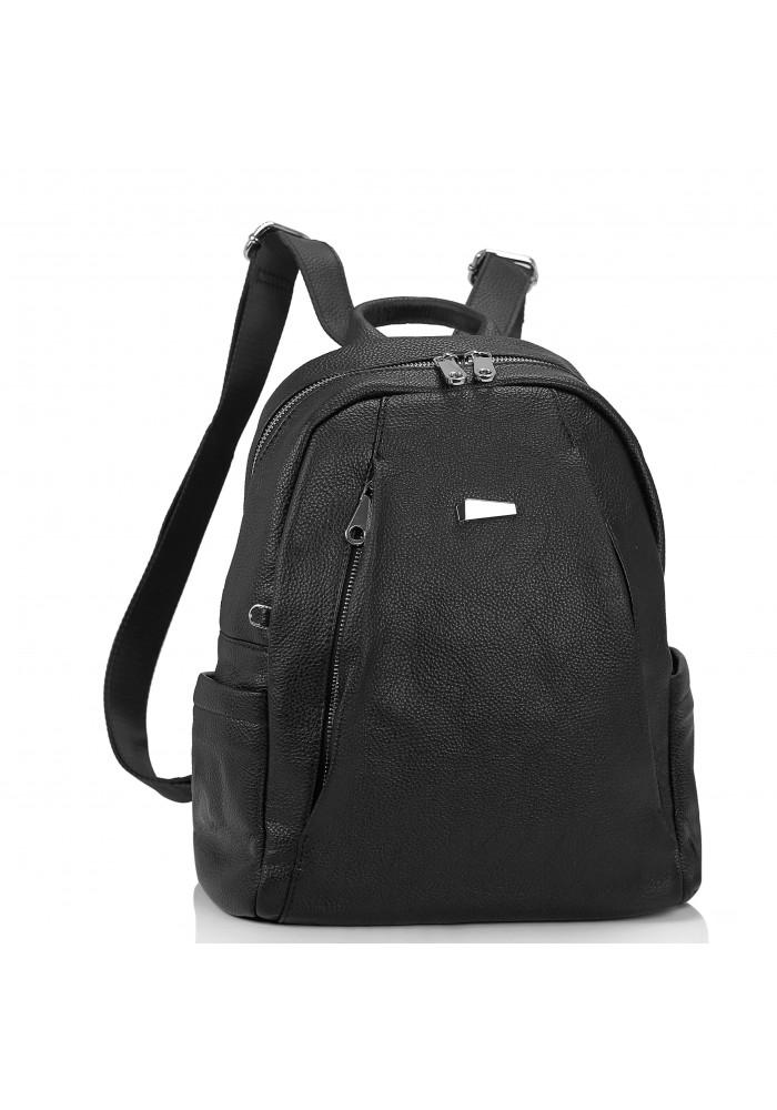 Фото Женский черный рюкзак Olivia Leather NWBP27-008A