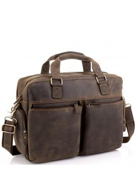 Фото Сумка для ноутбука деловая в винтажном стиле Tiding Bag D4-002R